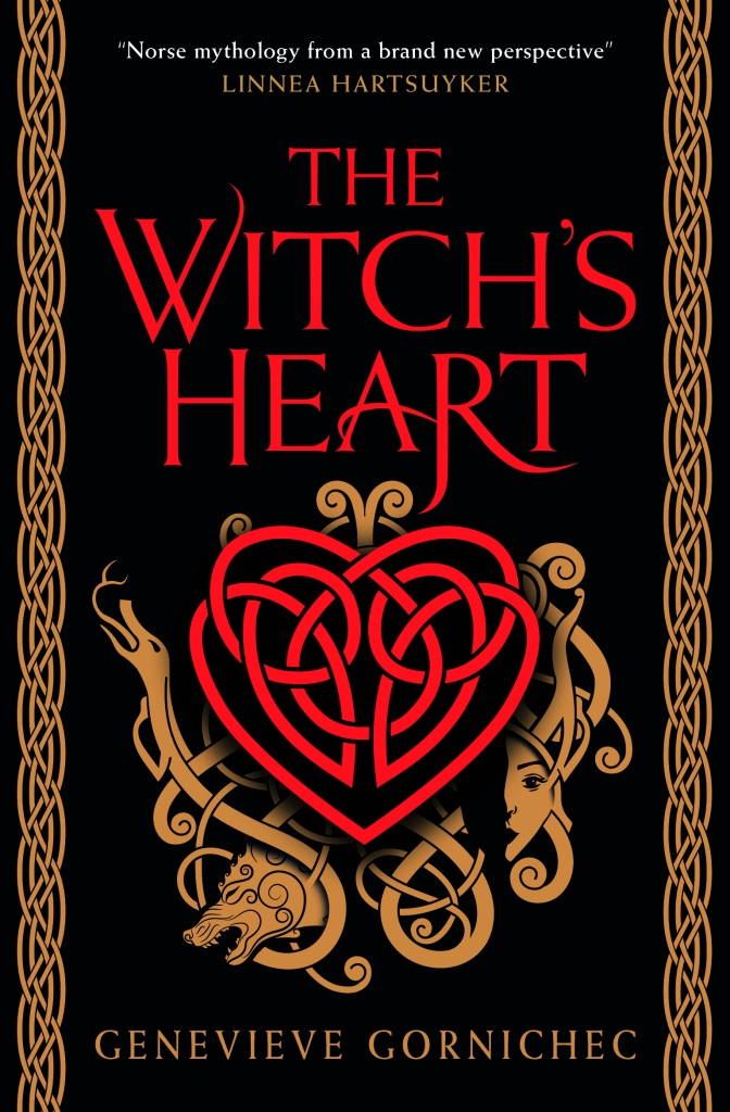 The Witch's Heart UK Cover